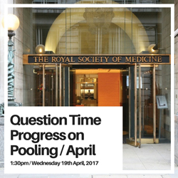 Question Time - Progress on Pooling