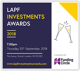 LAPF Investments Awards